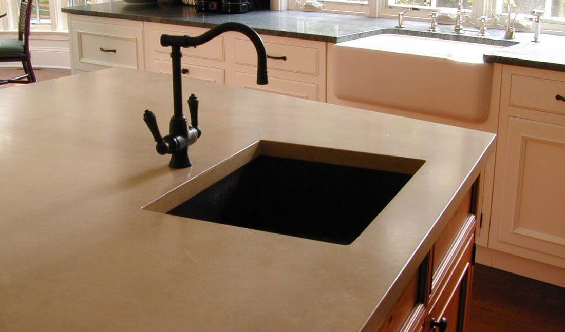 кухонная мойка, монтаж под столешницу